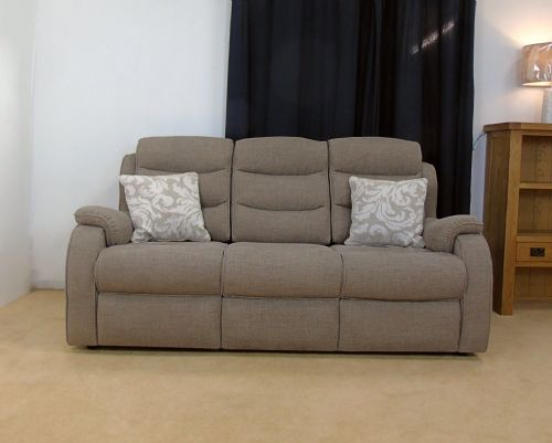 Michigan 3 Seater Sofa (latitude mocha)